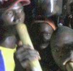 Photo of Sierre Leone musicians playing Bubu music