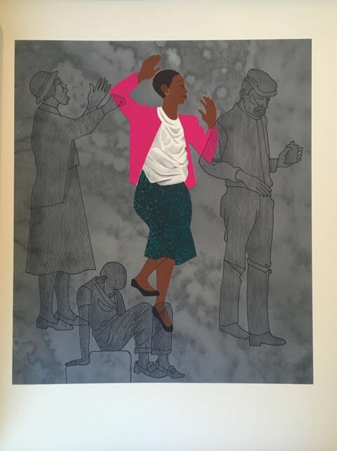 Elizabeth Catlett, For My People, 1992 Lithograph