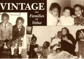Vintage: Families of Value film collage