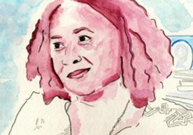 Portrait of Erica James